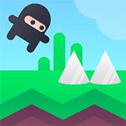 Ninja Training: Spikes game