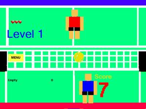 Soccer Tennis Headers game