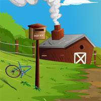 Farm House Escape Using Car Knfgame game