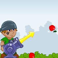 Apple Cannon Gamezhero game