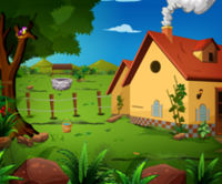 Farm House Escape Using Car game