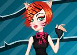play Monster High Toralei Stripe Makeover