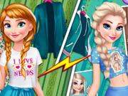 play Anna Vs Elsa Fashion Showdow