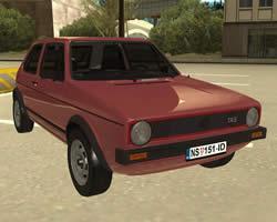 Volkswagen Golf 1 game