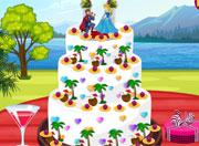 play Princess Summer Wedding Cake