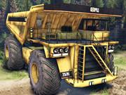 Mining Truck Jigsaw game