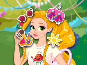Rapunzel Sweet Summer Party game