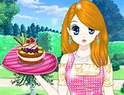 play Princess Afternoon Desserts Dress Up