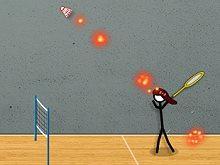 Stick Figure Badminton 3 game