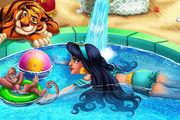 play Arabian Princess Swimming Pool Girl