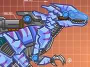 Steel Dino Toy: Mechanic Raptors game