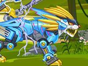 Zoo Robot: Lion game