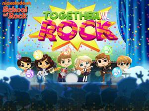 School Of Rock: Together We Rock Music game