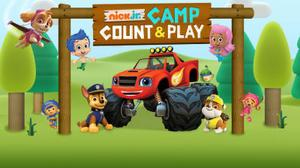 play Nick Jr. Camp Count & Play