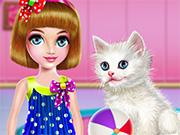 play Kitty Care And Grooming