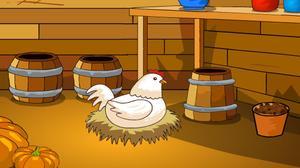play Farmer Wooden House Escape