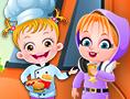 Baby Hazel Food Truck game