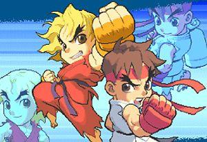 play Super Pocket Fighter Adventure Flash