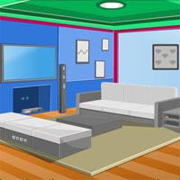 play Colorful House Escape Knfgame