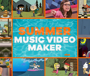Summer Music Video Maker game