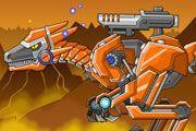 Toy War Robot Raptors game