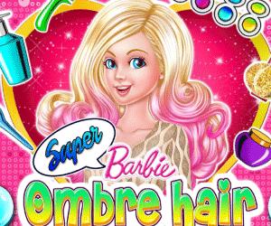 play Super Barbie Hair Trends