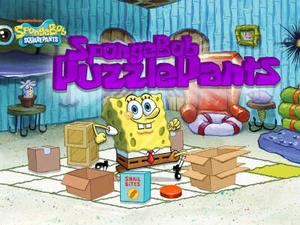 Spongebob Squarepants: Spongebob Puzzlepants Puzzle game