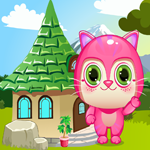 play Cute Pink Kitty Rescue Escape