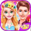 play Princess Garden Wedding - Makeover