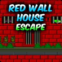 play Red Wall House Escape
