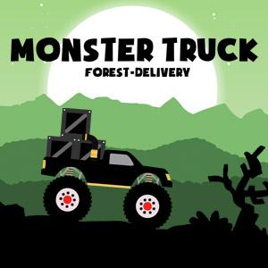 play Monster Truck Forest Delivery