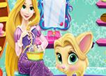 play Rapunzel Cat Care