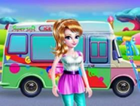 Girly Ice Cream Truck Car Wash - Free Game At Playpink.Com game