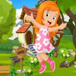play Happy Cute Girl Rescue Escape