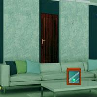 play Fancy Green Home Escape Gamesclicker