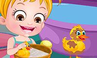 play Baby Hazel: Duck Life