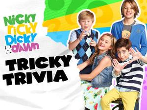 Nicky, Ricky, Dicky, & Dawn: Tricky Trivia Quiz game