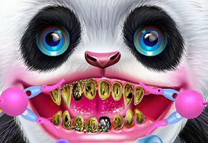 play Cute Panda Dentist Care