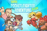 play Super Pocket Fighter Adventure Flash!