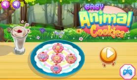 Baby Animal Cookies - Free Game At Playpink.Com game