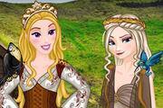 Princess Of Thrones Girl game