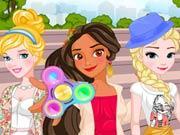 Princess Fidget Spinners game