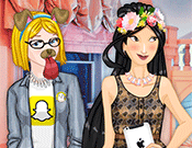 Princess Snapchat Dress Up game