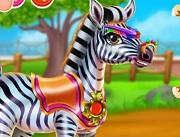 play Zebra Caring