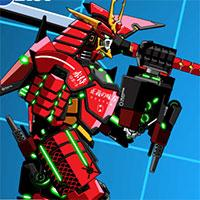 Battle Robot Samurai Age game