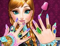 Ice Princess Nails Spa game