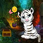 White Tiger Cub Rescue Escape game