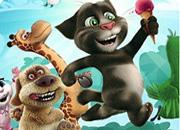 Talking Tom And Friends Differences game