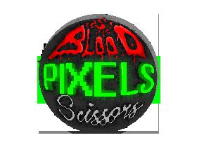 Blood Pixels Scissors