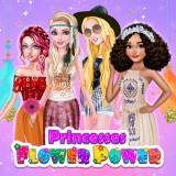 Princesses Flower Power game